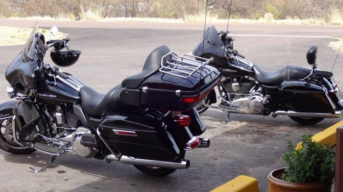 2014 Harley-Davidson® FLHTK Electra Glide® Ultra Limited and a 2014 Harley-Davidson® FLHX Street Glide®