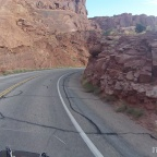A Ride Through Arches National Park