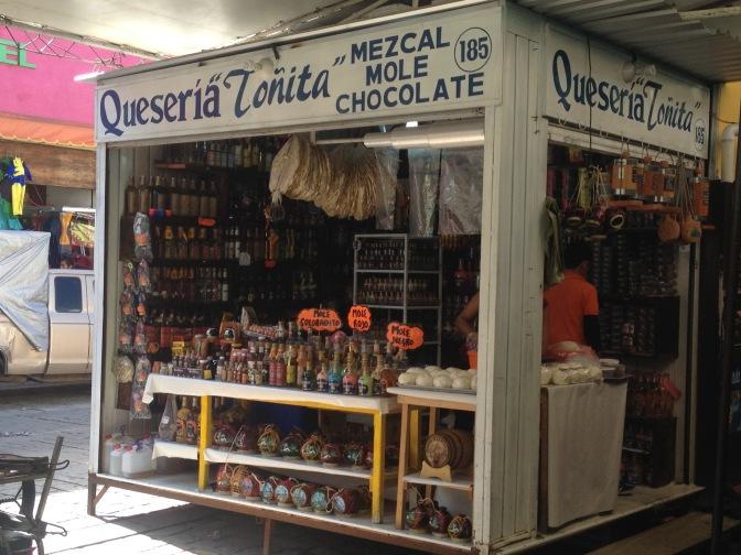 Mezcal booth