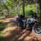Camping near Calabogie Ontario